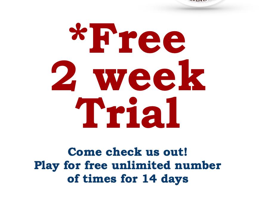 Free Tennis Trial
