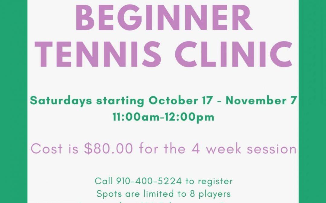 Beginner Tennis Clinic Pinehurst