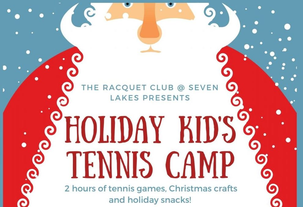 Holiday Kid's Tennis Camp – Dec 21 & 22