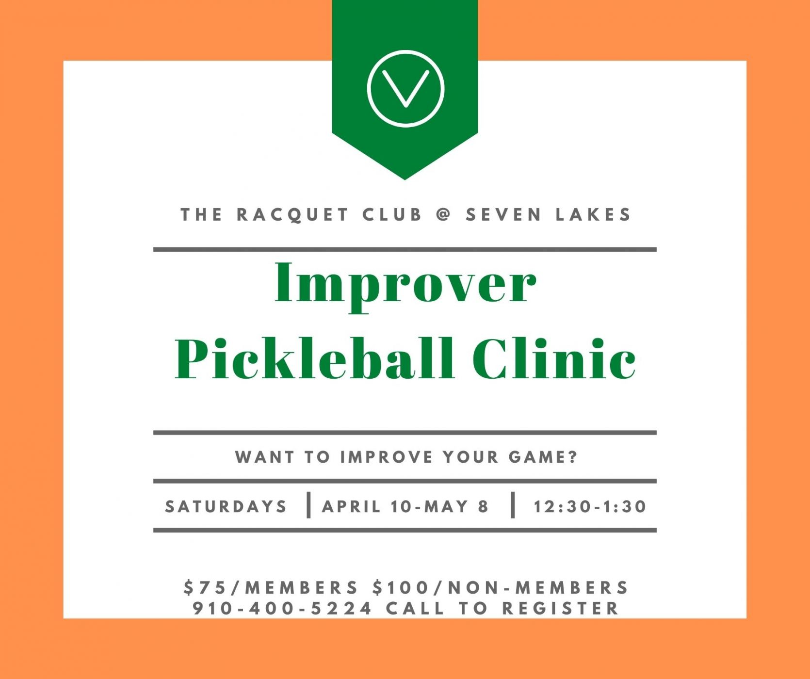 Imporever Pickle Ball Clinic