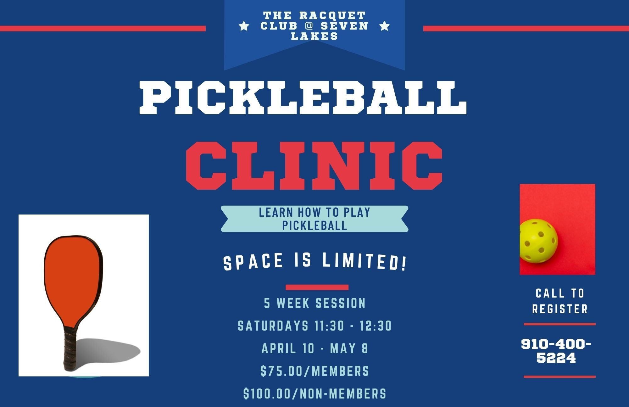 PickleBall Clinic